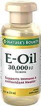 ویتامین Bounty ویتامین E-روغن 30،000 IU (موضعی یا خوراکی) ، 2.5 اونس