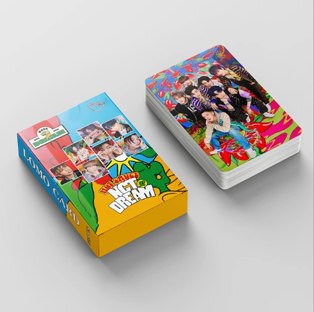 NCT Dream lomo Max 70% OFF Card 55PCS 1st Sauce Album Full HOT lom shipfree