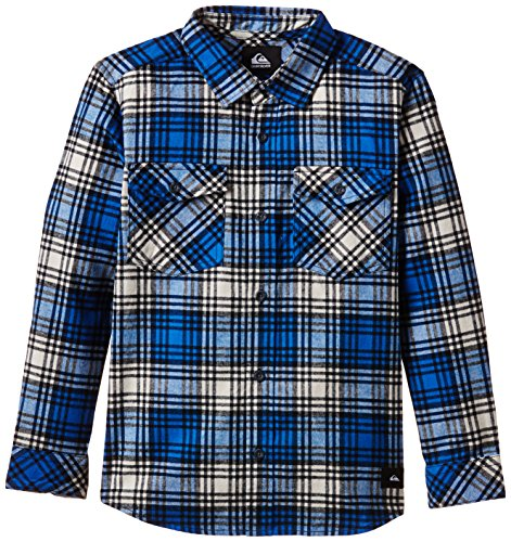 Quiksilver Everyday Chemise Garçon Everyday Flannel Victoria Blue FR : 8 ans (Taille Fabricant : XS/8)