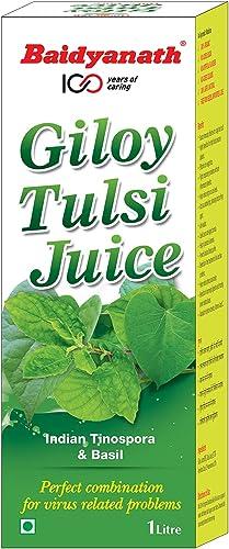 Baidyanath Giloy Tulsi Juice Helps Boost Immunity 1L