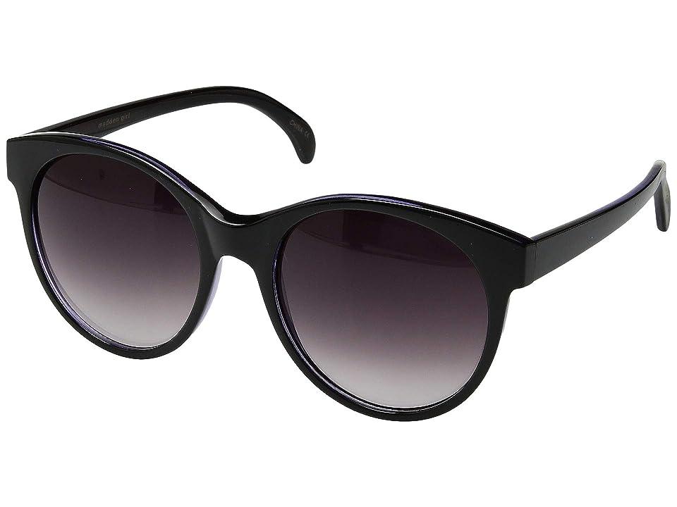 Steve Madden Madden Girl MG893101 (Black/Slate) Fashion Sunglasses