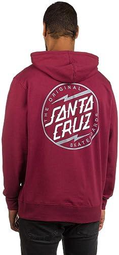 Santa Cruz - Sweat-Shirt à Capuche - Homme Rouge Blood