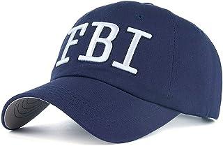FHHYY Casquette Casquette de Baseball Nouvelle Lettre FBI brod/ée Casquette de Baseball Hommes Femmes Hip hop Mode Coton Papa Chapeaux Chapeau de Parasol en Plein air Casquettes de Sport r/églables