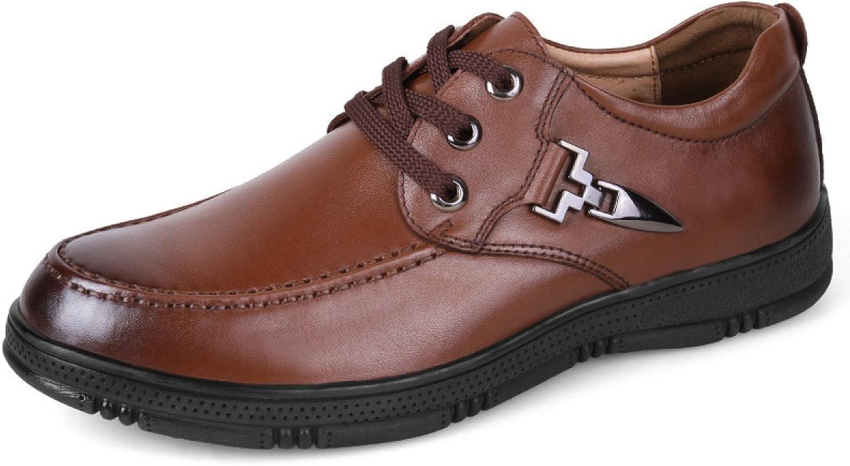 Spring shoes Men Casual Men's shoes Single shoes Leather shoes