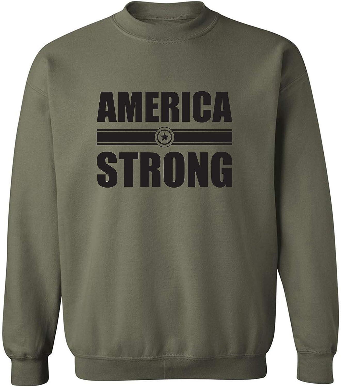 zerogravitee America Strong Crewneck Sweatshirt