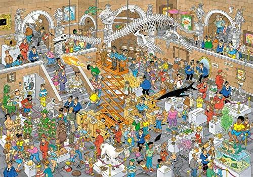 Jumbo Spiele Jan Van Haasteren Gallery of Curiosities Jigsaw Puzzle (3000 Pieces)
