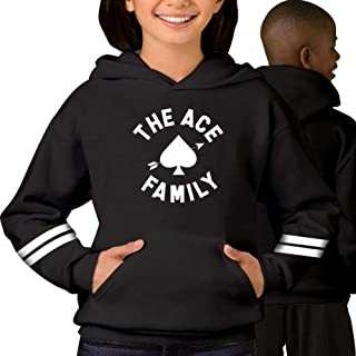 Vchat Teen Ace Family Pullover Hoodies Long Sleeve Hooded Sweatshirt