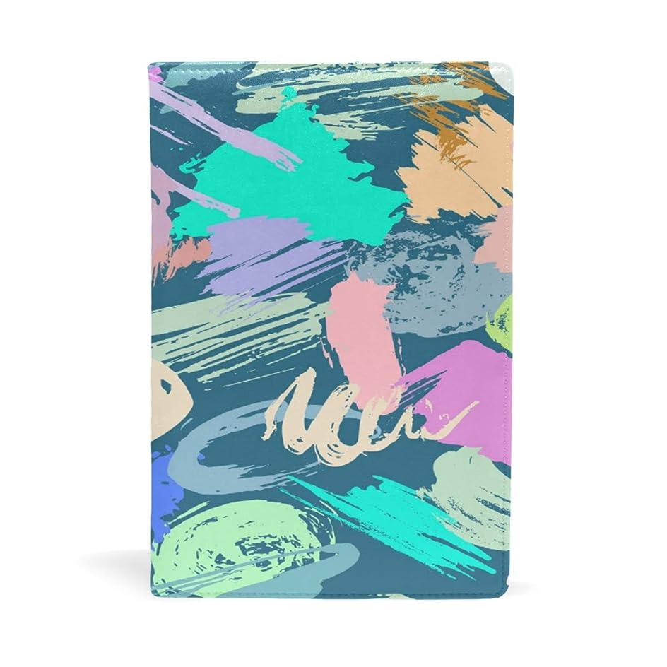 汚物記念碑的なメモLa Rose ブックカバー 文庫 a5 皮革 レザー カラフル おしゃれ かわいい 文庫本カバー 手帳 読書 収納入れ ファイル 資料 オフィス用品 雑貨 プレゼント