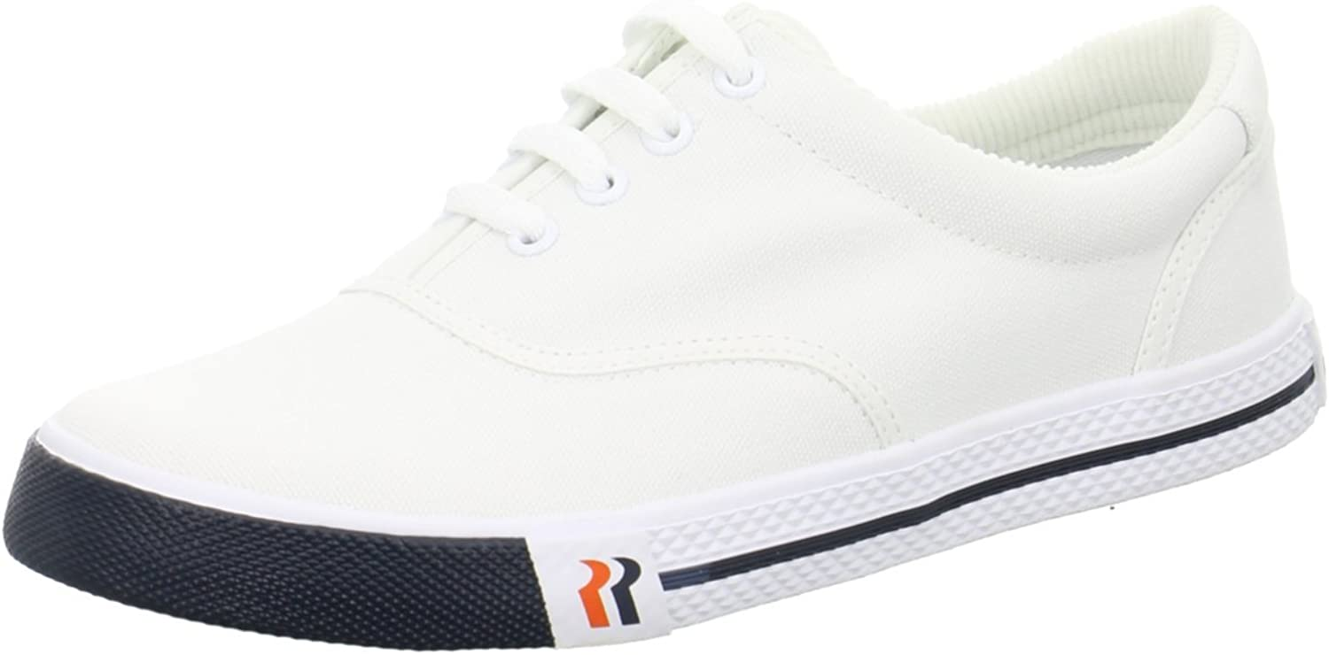 Romika Unisex Adults' 20001 Boat shoes White Size  45 EU
