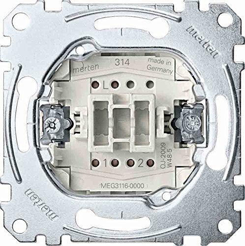 MERTEN polarwei glnzend System M & M-Smart Schalter & Steckdosen- Set Auswahl