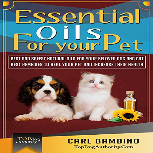 Essential Oils for Your Pet audiobook cover art