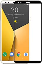 Plus 3D Edge-to-Edge Full Glued No Rainbow Front Body Tempered Glass Screen Protector Guard for InFocus Vision 3 (Black)