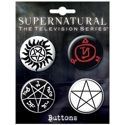 Supernatural Pins: Amazon com