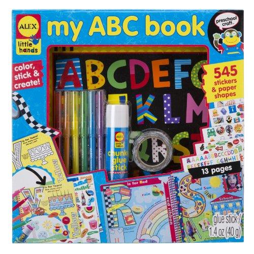 Alex Toys Little Hands My ABC Livre Souvenir