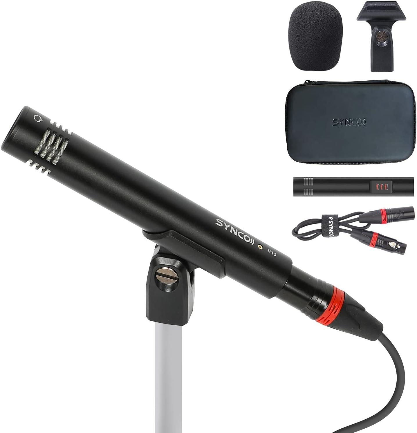 Small Diaphragm Special Campaign Condenser Microphone C V10 Max 88% OFF SYNCO Hyper-Cardioid