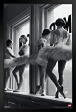 Pyramid America Time Life Ballerina Window Photo Black Wood Framed Art Poster 14x20