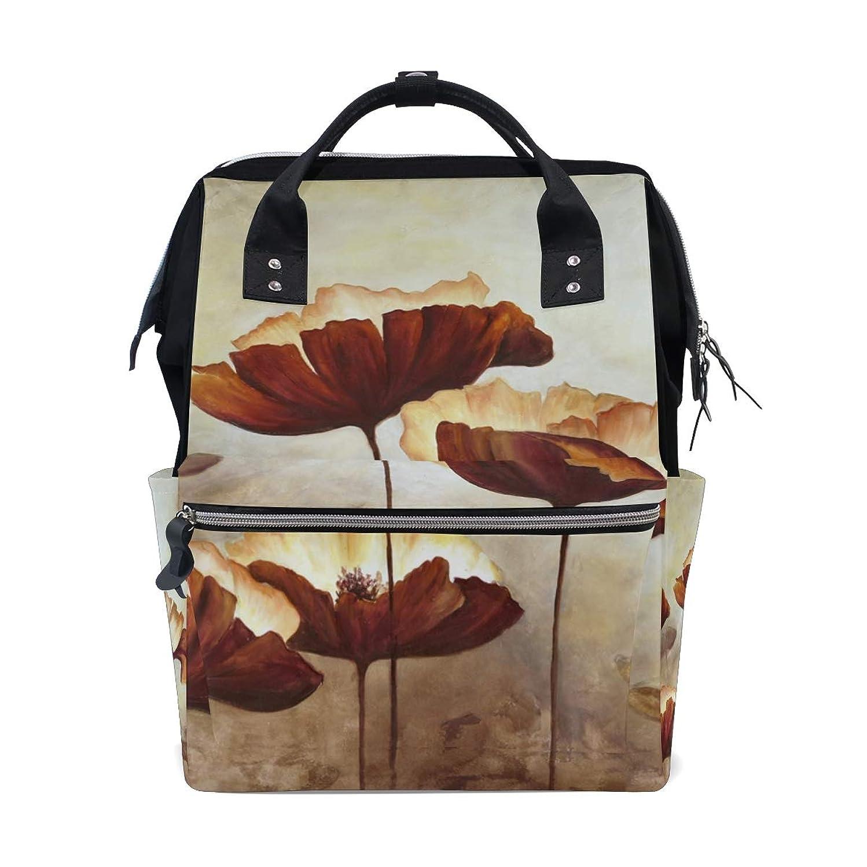 Vintage Lotus Leaves School Backpack Large Capacity Mummy Bags Laptop Handbag Casual Travel Rucksack Satchel For Women Men Adult Teen Children