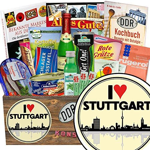 I love Stuttgart / Geschenk Stuttgart Freundin / Geschenkbox Spezialitäten
