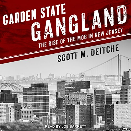 Garden State Gangland audiobook cover art