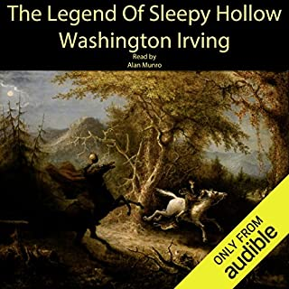 The Legend of Sleepy Hollow                   By:                                                                                                                                 Washington Irving                               Narrated by:                                                                                                                                 Alan Munro                      Length: 1 hr and 26 mins     121 ratings     Overall 3.8