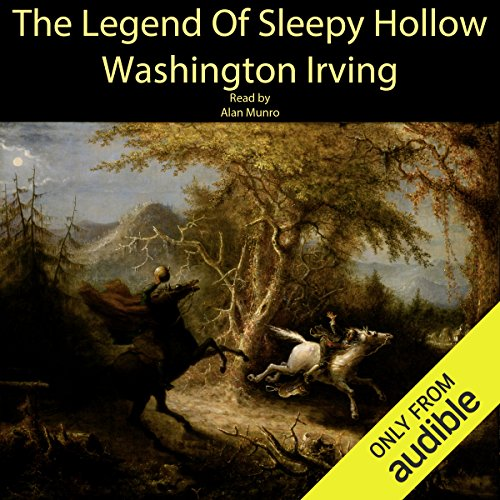 The Legend of Sleepy Hollow audiobook cover art