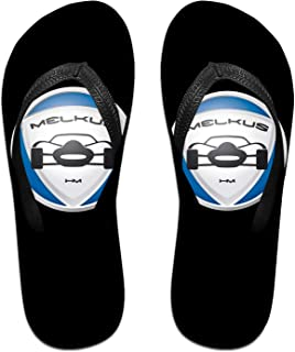 Me-Lkus Logo Pantoufles Tongs Antidérapantes Pour Hommes Tongs De Plage