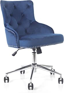 Amazon Com Home Office Desk Chairs Blue Home Office Desk Chairs Home Office Chairs Home Kitchen