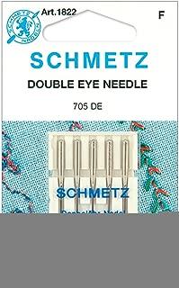 Double Eye Machine Needles-Size 12/80 5/Pkg