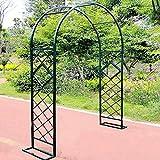 QLLL Patio de Jardin Extérieur Grand Arche a Rosiers Mariage Ornement Pergola, pour Grimper Rosiers Plante