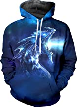 pinata Dragons Print Pullover Hoodie Men 3D Printed Hooded Sweatshirt Casual Pockets