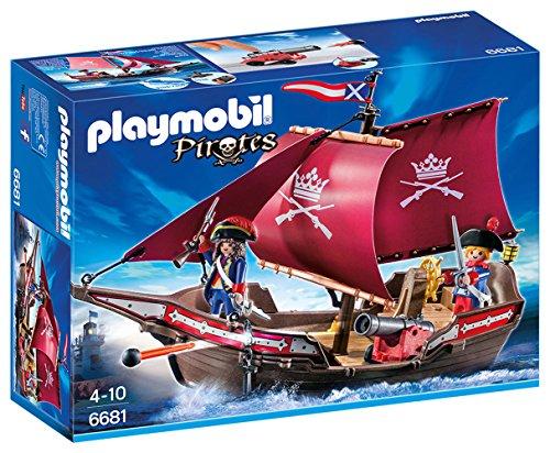 PLAYMOBIL: Barco Patrulla de Soldados  66810