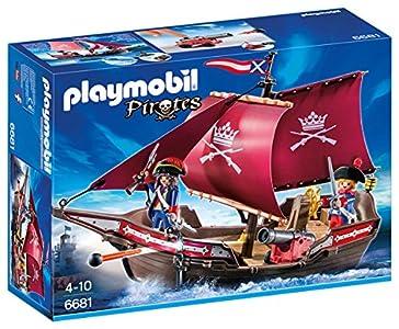 PLAYMOBIL - Barco Patrulla de Soldados (66810)