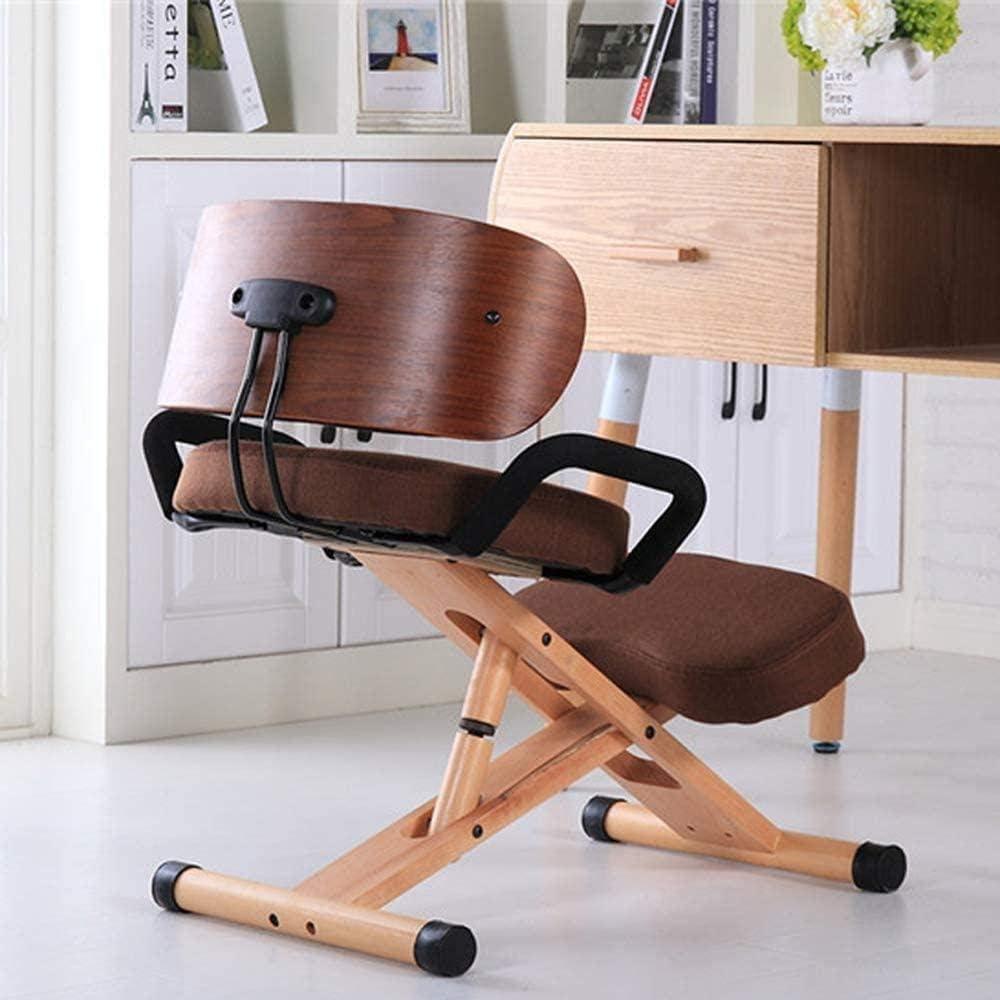 Fauteuil Hauteur réglable ergonomique Genoux Accueil Chaises de bureau orthopédique Posture Chaise tabouret (Color : A1) B5