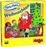HABA 305549 - Ratz Fatz ist Weihnachten, Lernspiele für Kinder ab 3 Jahren zur Förderung von Sprachentwicklung, Konzentraiton und Reaktionsvermögen, Spiel ab 3 Jahren