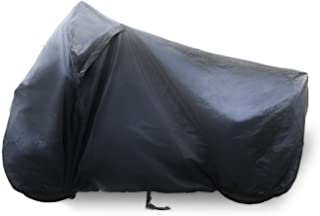 GAUCHO Motorcycle cover – Heavy duty all-season outdoor protection for sport bikes - Waterproof outside shelter with soft cotton and heat resistant liner inside. (XL)