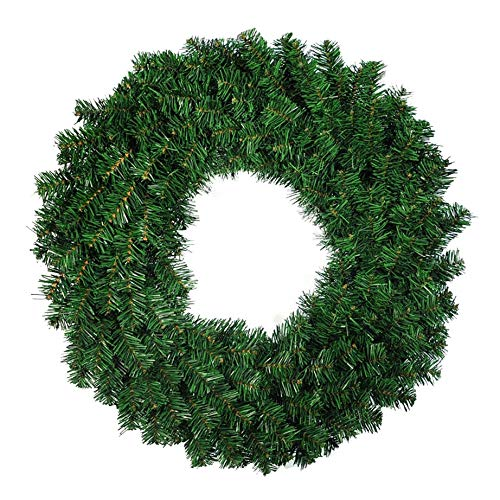 Bayda 1 Pcs 50cm Artificial Pine Wreath Garland for Front Door Window Fireplace Christmas Decoration