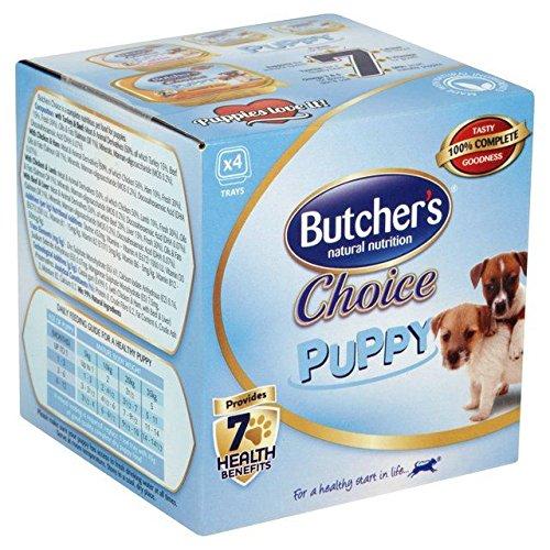 BUTCHER'S Choix Chiot 4 X 150G De Boucherie