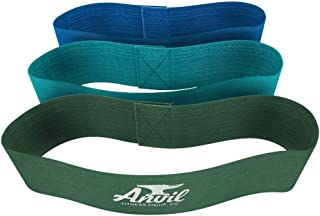 Anvil Fitness Soft Hip Resistance Bands - Premium Quality Exercise and Workout Straps for Leg Band Exercise, Glutes, Quads...