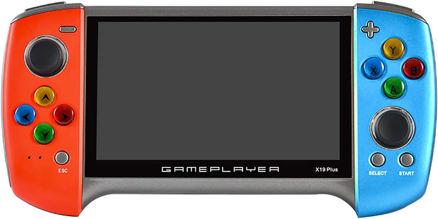 X19 Plus Special sale item Handheld Game Console Retro Large 5.1-Inch Vide Screen Same day shipping
