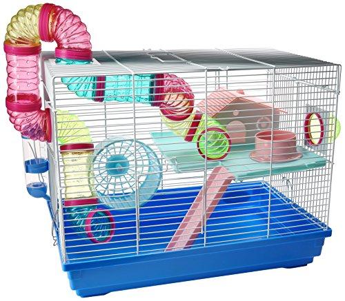 Da Yang 513B - Interesting Cage, Jaula para Hamster, Colores Aleatorios