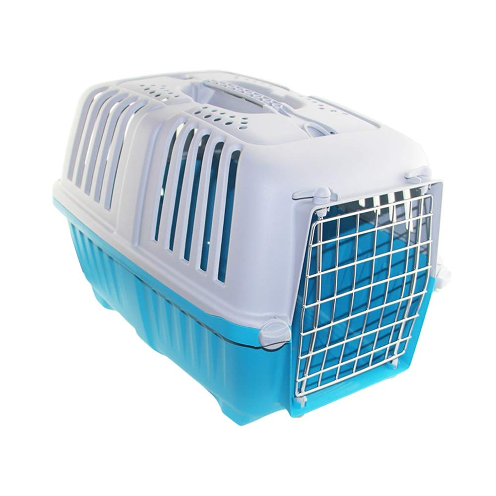 Estuche de transporte para mascotas Plástica del gato del perro del portador de la jaula de