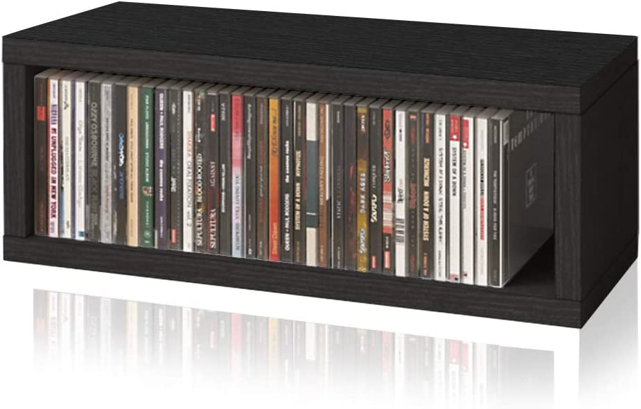 Way Basics Eco Limited time cheap sale Stackable Media List price and Rack Storage Shelving Organiz