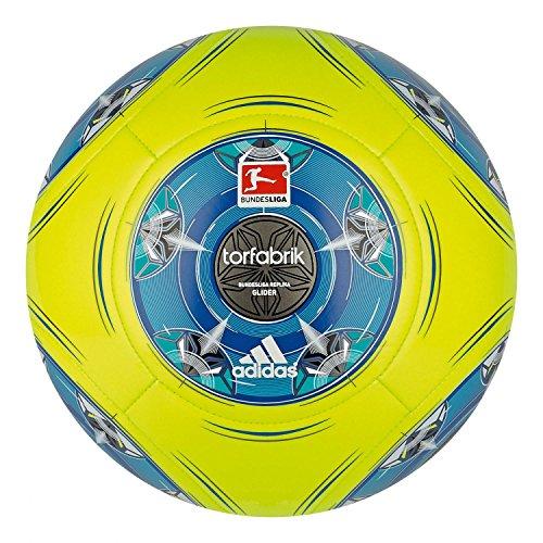 adidas Fußball Torfabrik 2013 DFL 13 Glider, Electr/Blubea/Wht/Sil, 4, G73548