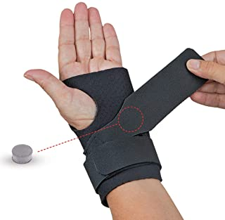 Comfort Cool Ulnar Booster Support Provides Compression for Ulnar Sided Wrist Pain. TFCC Tear Triangular Fibro-Cartilage C...