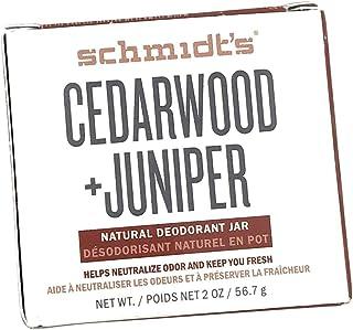 Schmidts Deodorant, Deodorant Jar Cedarwood Juniper, 2 Ounce