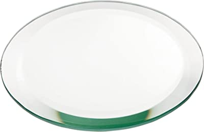 Plymor Round 5mm Beveled Glass Mirror, 5 inch x 5 inch (Pack of 3)