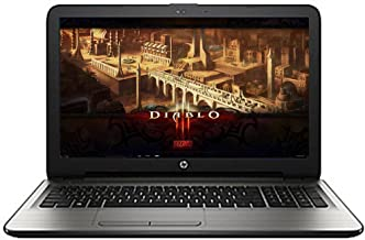 HP High Performance 15.6-inch HD+ Dispay Business Laptop AMD A10-9600P APU Quad-Core Processor 6GB DDR4 RAM 1TB Hard Drive HD Webcam DVD HDMI Webcam WIFI Bluetooth Window 10-Gray