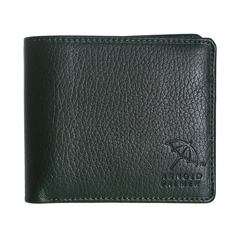 失望カップルいろいろアーノルドパーマー ベラ付き 二つ折り 短財布 4AP3141-GR グリーン