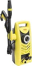Realm 1600 PSI, 1.6 GPM, 13 Amp Electric Pressure Washer with Spray Gun,Adjustable Nozzle,Foam Cannon, Yellow Black