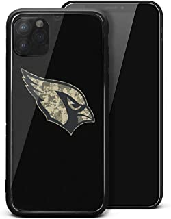 Case for iPhone 11 Pro Max Slim Scratch Resistant Glass Case Back + TPU Frame iPhone 11 Pro Max Case [6.5 Inch]